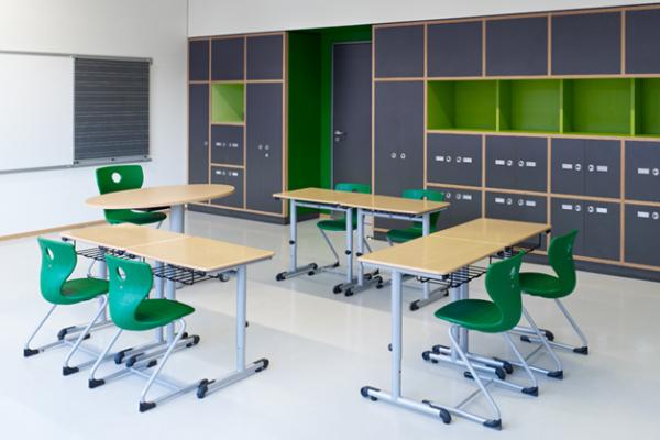 Unterrichtsraum für Arbeitsgruppen